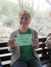Veronica received the Perfect Prickly Pear Planter award! Photo: ASDM