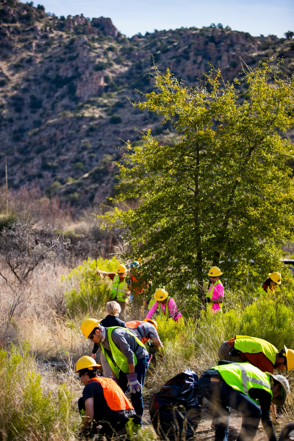 Thursday_Overview of trailwork_Photo by Pima County Communications